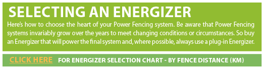 Selecting An Energizer